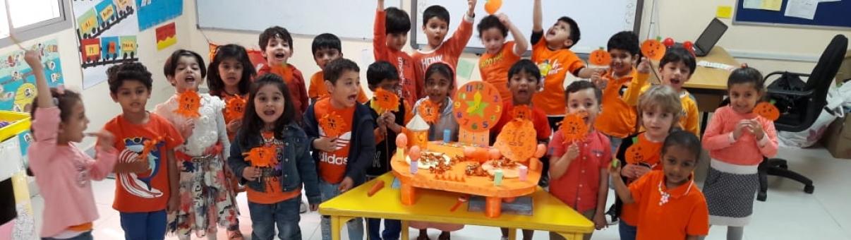 Orange Colour Day (KG)